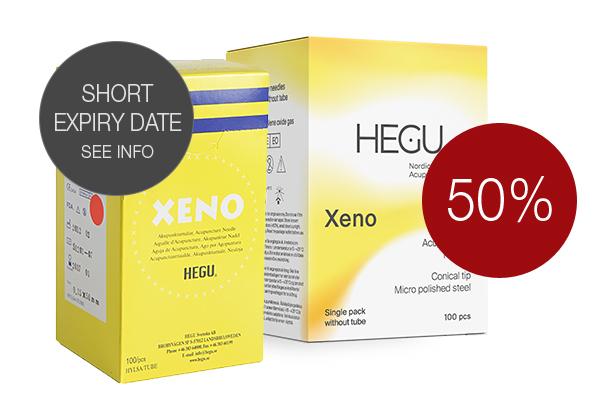 Hegu Akupunkturnål Xeno 0,30x40 mm