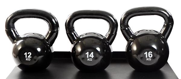 TKO® Kettlebells 2-20 kg / 10 stk