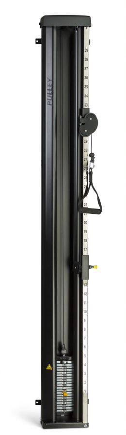 Lojer Dragapparat 14 kg/20 kg svart