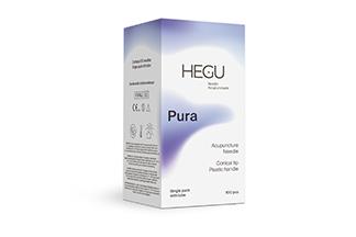 Akupunktioneula HEGU P-type 0,20x15mm, ohjausputkella