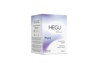 Akupunktioneula HEGU P-type 0,25x25mm, 5-pack