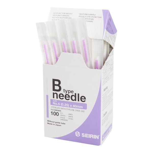 Akupunktioneula SEIRIN B 0,25x40mm, ilman ohjausputkea