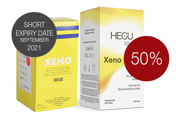 Akupunktioneula HEGU XENO 0,25x30mm