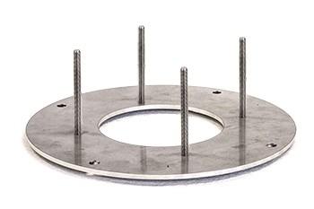 Mounting plate (Nira 67 and NIRA3)